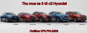 Thu mua xe ô tô cũ Hyundai