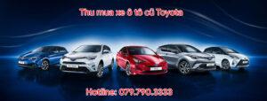 Thu mua xe ô tô cũ Toyota