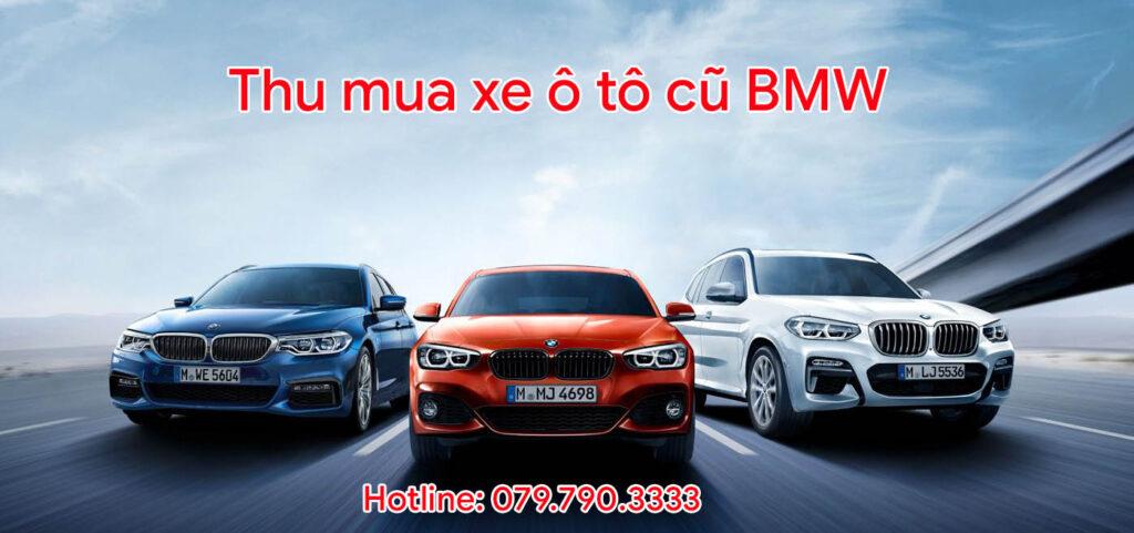 Thu mua xe ô tô cũ BMW