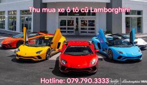Thu mua xe ô tô cũ Lamborghini