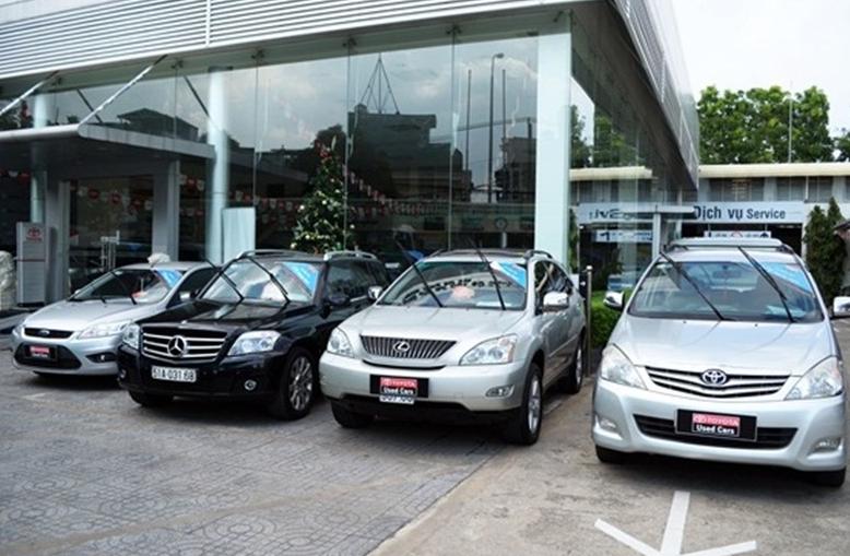Đơn vị thua mua ô tô cũ với mức giá cao