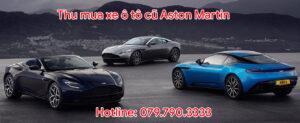 Thu mua xe ô tô cũ Aston Martin