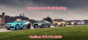 Thu mua xe ô tô cũ Bentley
