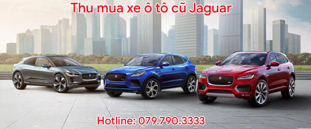 Thu mua xe ô tô cũ Jaguar