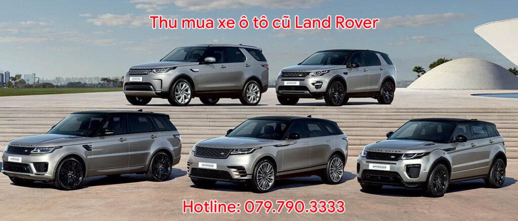 Thu mua xe ô tô cũ Land Rover