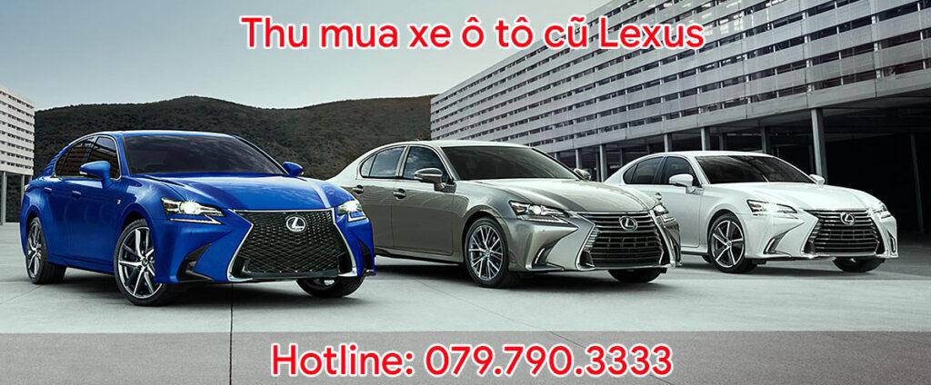 Thu mua xe ô tô cũ Lexus