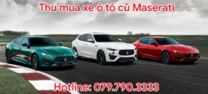 Thu mua xe ô tô cũ Maserati