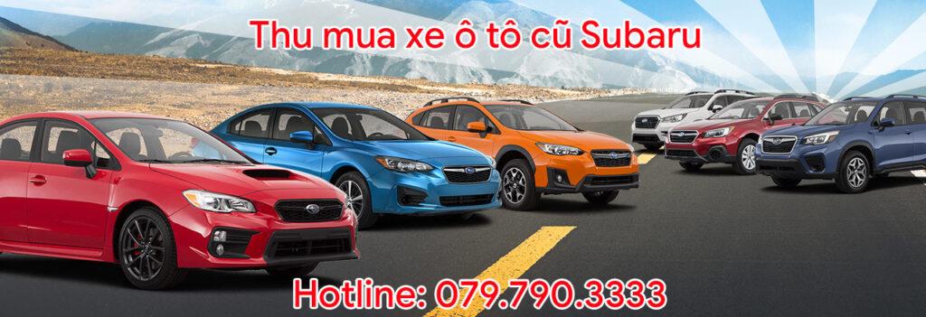 Thu mua xe ô tô cũ Subaru
