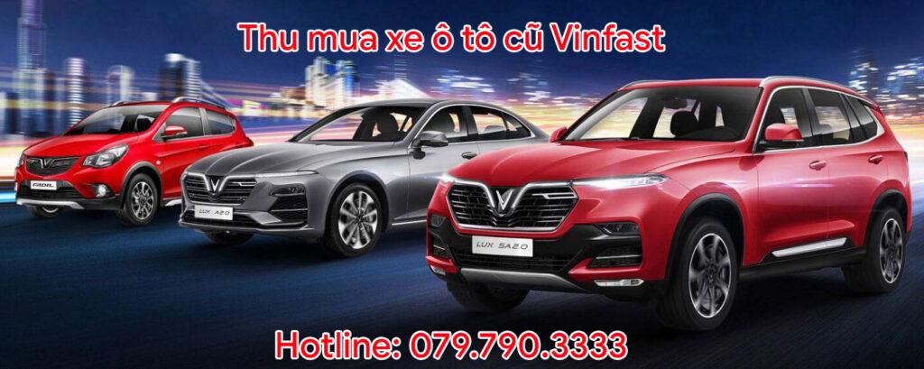 Thu mua xe ô tô cũ Vinfast