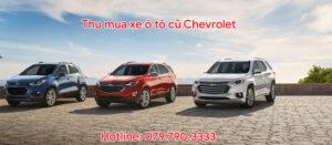 Thu mua xe ô tô cũ Chevrolet